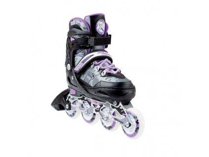 Kolieskové korčule Nils Extreme NA 1118 A fialové