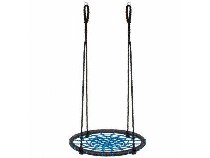 Hojdací kruh Springos 60 cm - modro-čierna