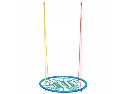 Hojdací kruh Springos 100 cm - multicolour
