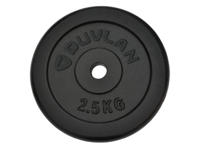 Závažie DUVLAN 2,5 kg oceľové
