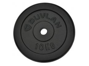 Závažie DUVLAN 10 kg oceľové