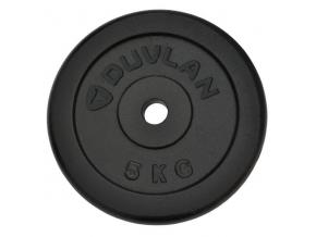 Závažie DUVLAN 5 kg oceľové