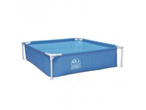 Detský bazén Square Frame Pool 122 x 122 x 33 cm - modrý