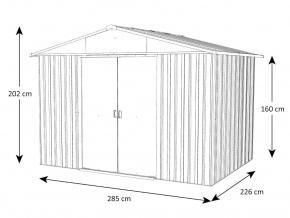 Záhradný domček YardMaster 108GEYZ