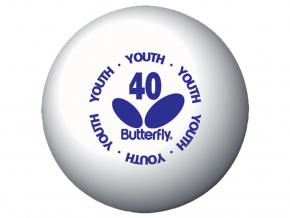 stolnotenisové loptičky Butterfly Youth 144 ks