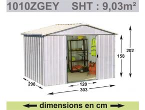 Záhradný domček YardMaster 1010ZGEY