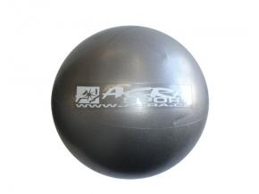 Overball ACRA 26 cm - strieborný
