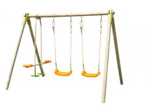 Detská drevená hojdačka Trigano Choupy
