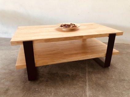 Konferenční stolek s poličkou
