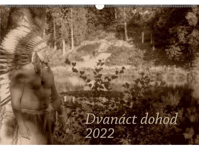 Motivační kalendář Dvanáct dohod 2022