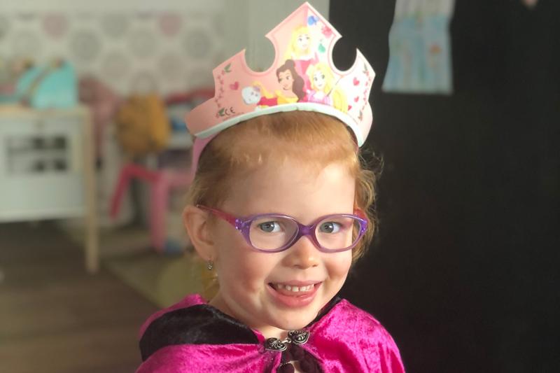 Jak jsme přišli na to, že Adélka potřebuje brýle?