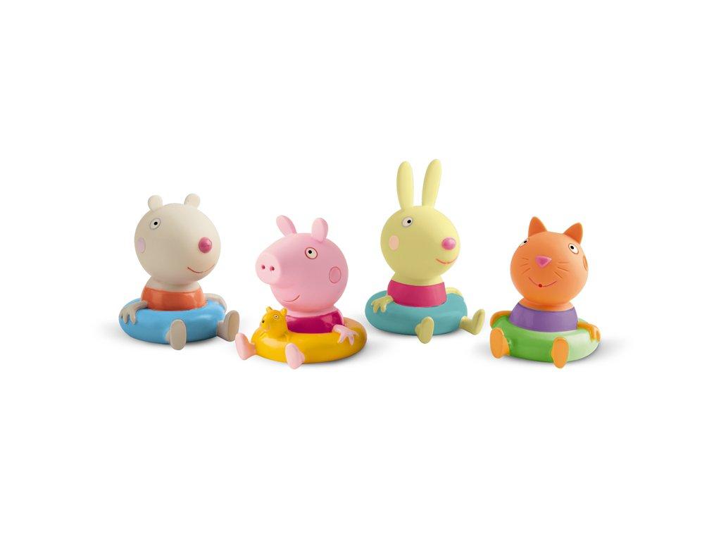 PEP360037I Peppa figurki do kąpieli 4 pak (4)