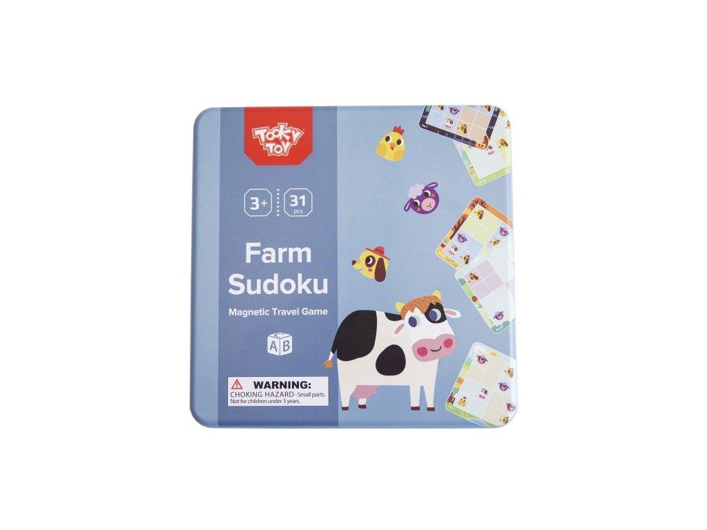 sudoku zvierata na farme tooky toys TL631 01 500x500