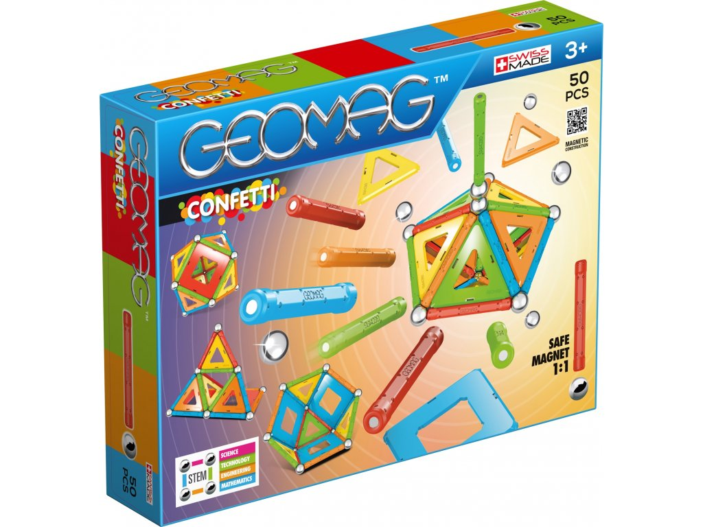 Geomag Classic CONFETTI 50 Packshot (a)