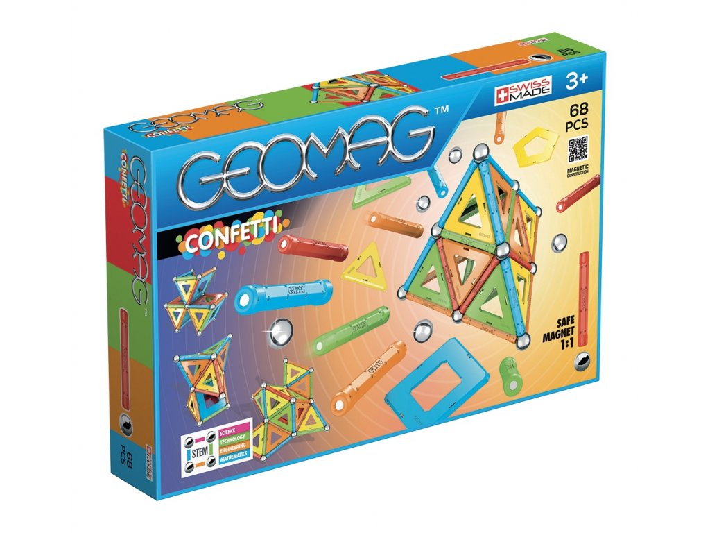 Geomag Classic CONFETTI 68 Packshot (a)