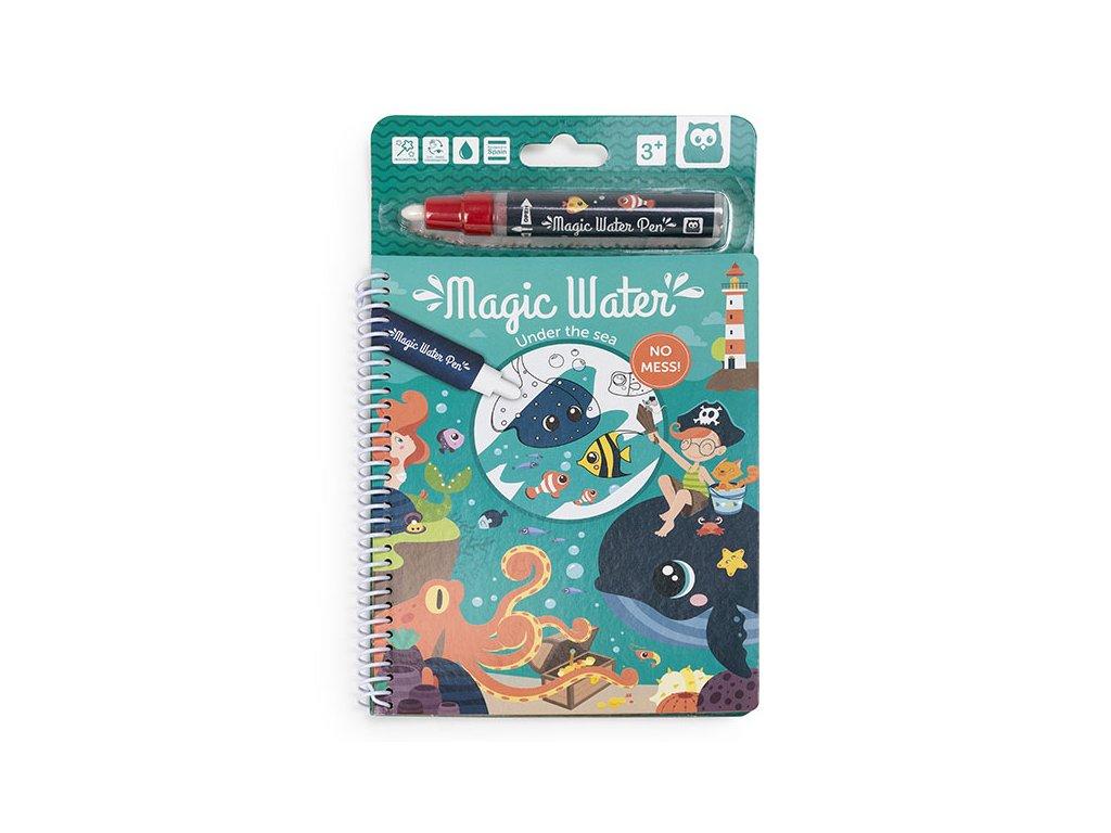 magic water bajo el mar