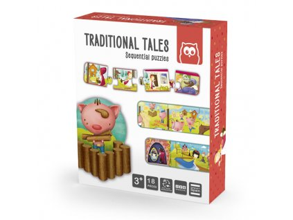 traditional tales puzzle secuencial