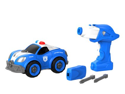 Auto pro malé mechaniky - policie | Eureka Kids