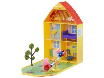 PEP06156 Peppa domek z ogrodem+akcesoria+figurka (4)