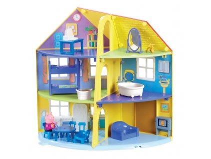 PEP06384 Peppa Dom rodzinny+figurka (6)