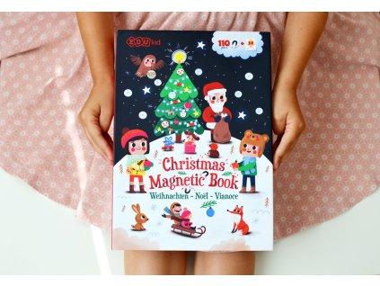 Magneticka kniha Vianoce lifestyle