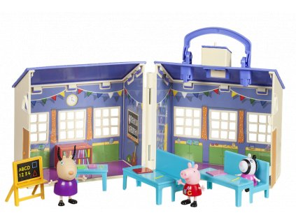 92608 PEP Peppa Pig's School Playset Open LR