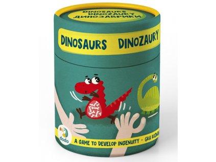 Hra na postřeh a učení barev - Dinosauři| Dodo