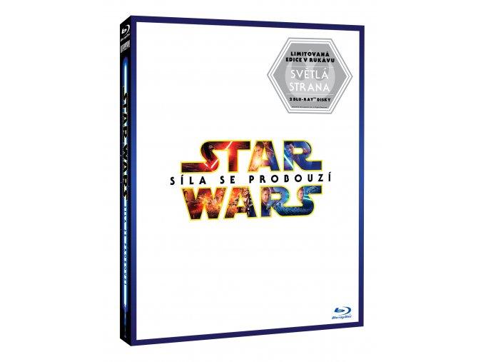 Blu-ray: Star Wars: Síla se probouzí 2BD - Limitovaná edice Lightside