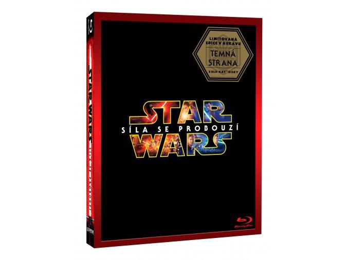 Star Wars: Síla se probouzí 2BD - Limitovaná edice Darkside