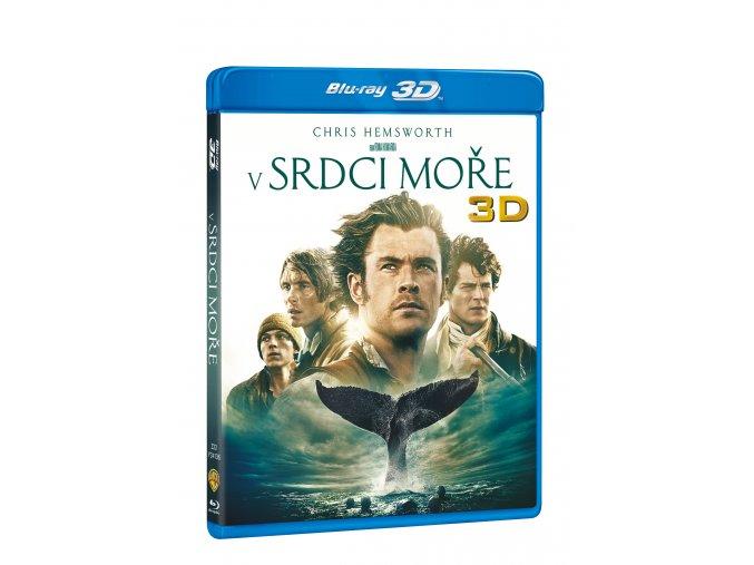 Blu-ray: V srdci moře 2BD (3D+2D)