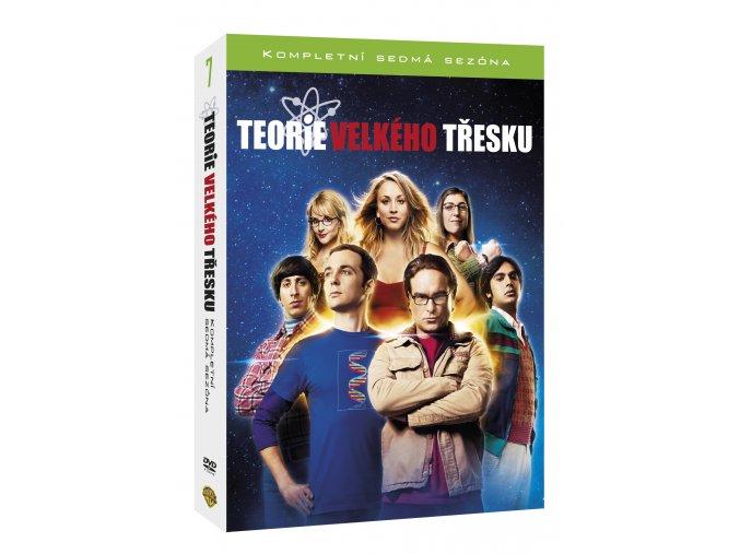 DVD: Teorie velkého třesku 7.série 3DVD