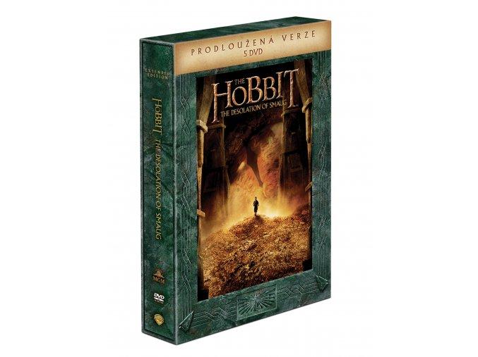 DVD: Hobit: Šmakova dračí poušť - prodloužená verze 5DVD
