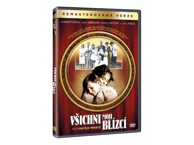 Všichni moji blízcí DVD (remasterovaná verze)