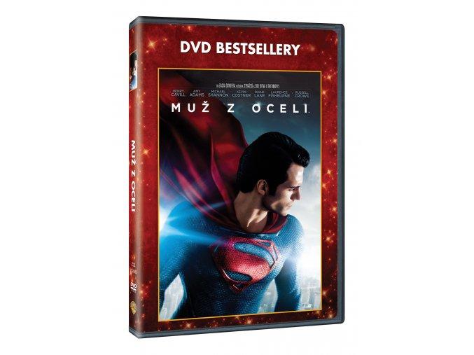 DVD: Muž z oceli - Edice DVD bestsellery