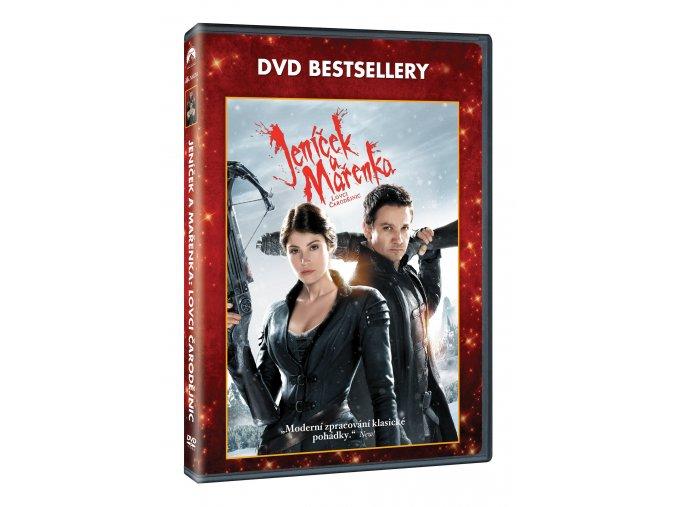 DVD: Jeníček a Mařenka: Lovci čarodějnic - Edice DVD bestsellery
