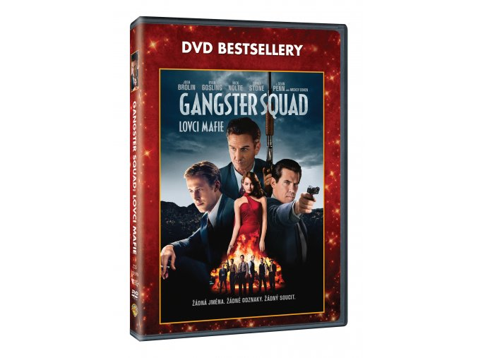 DVD: Gangster Squad - Lovci mafie - Edice DVD bestsellery