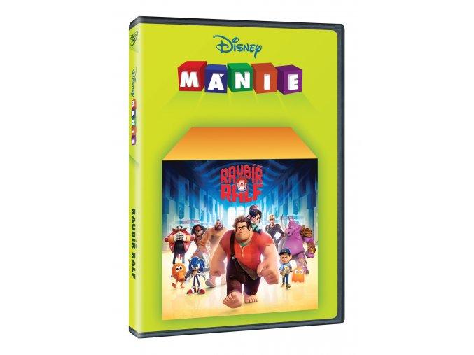 Raubíř Ralf DVD - Edice Disney mánie