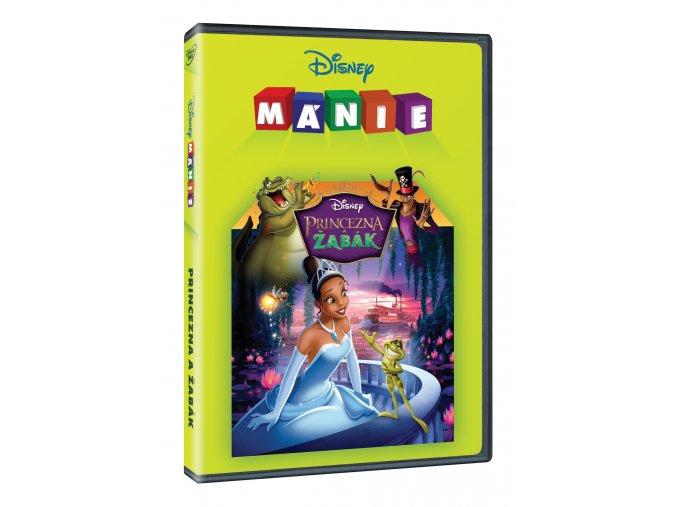 DVD: Princezna a žabák - Edice Disney mánie