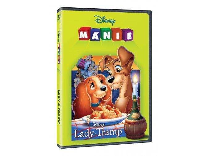 DVD: Lady a Tramp DE - Edice Disney mánie