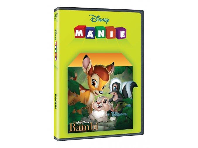 DVD: Bambi DE - Edice Disney mánie