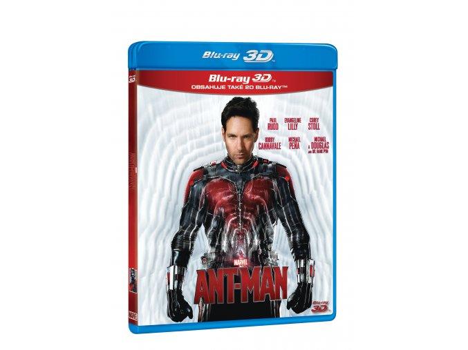 Blu-ray: Ant-Man 2BD (3D+2D)