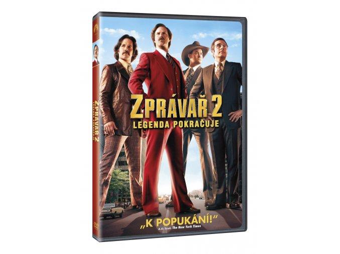 DVD: Zprávař 2 - Legenda pokračuje