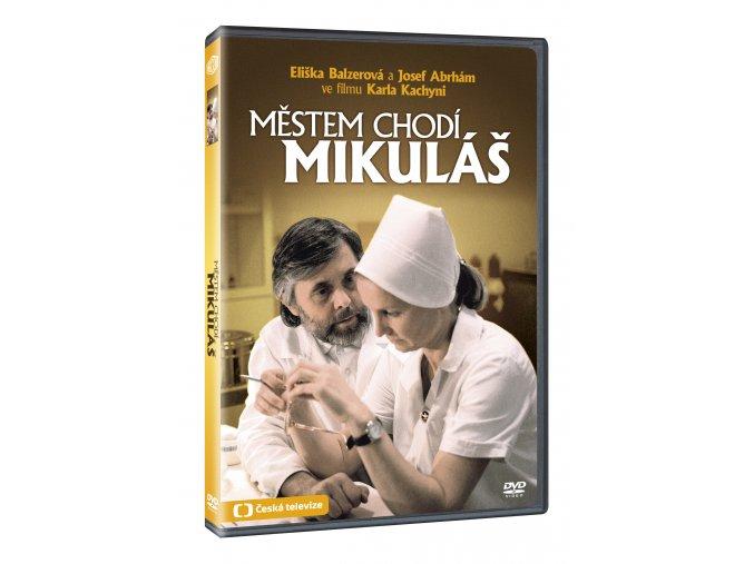 Městem chodí Mikuláš DVD