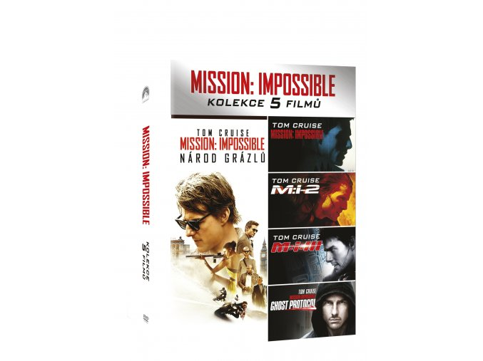 Mission: Impossible kolekce 1-5 DVD