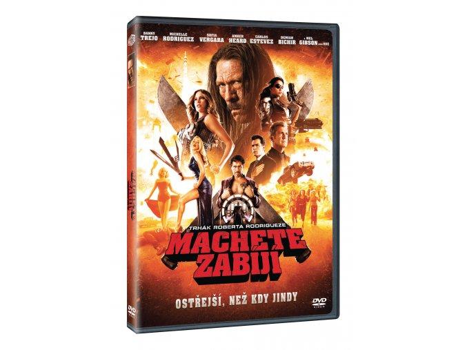 Machete zabíjí DVD