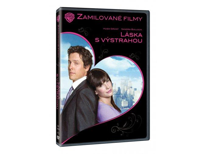 Láska s výstrahou DVD - Edice zamilované filmy