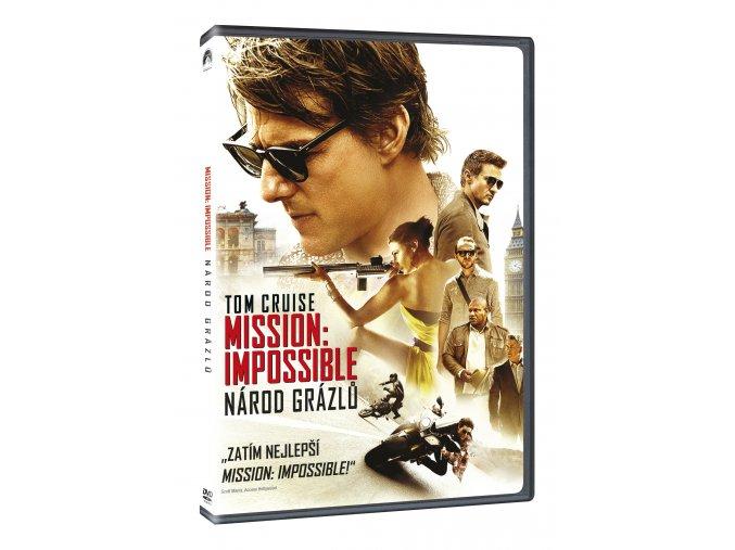 Mission: Impossible - Národ grázlů DVD