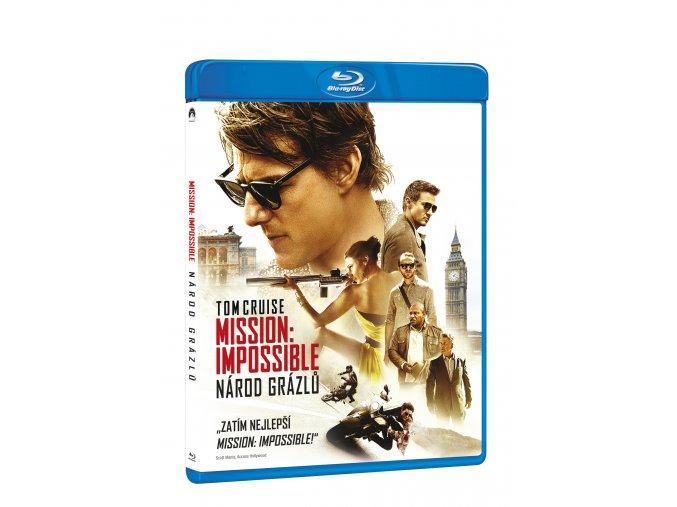 Blu-ray: Mission: Impossible - Národ grázlů