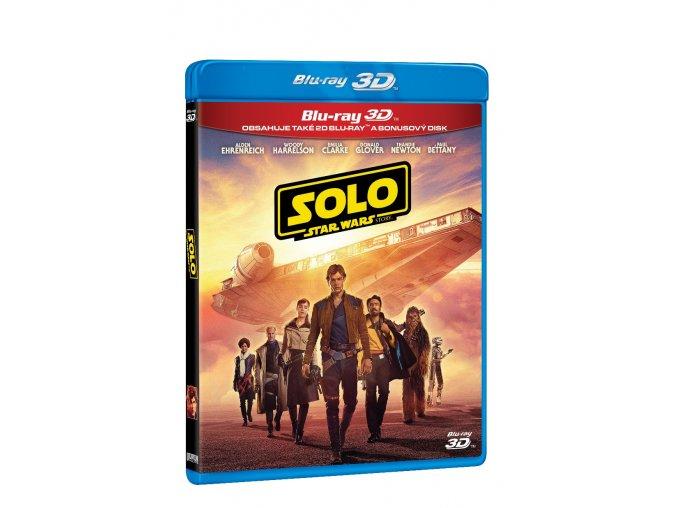 solo star wars story 3blu ray 3d 2d bonus disk 3D O