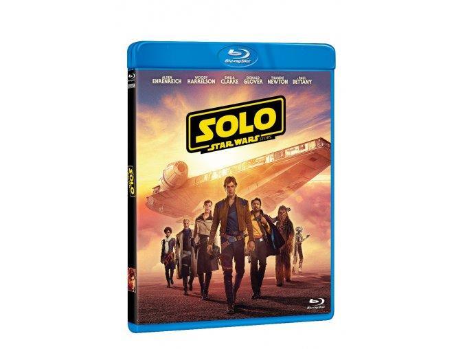 solo star wars story 2blu ray 2d bonus disk 3D O